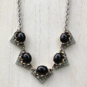 Stella & Dot 'Mae' Black Gem Necklace